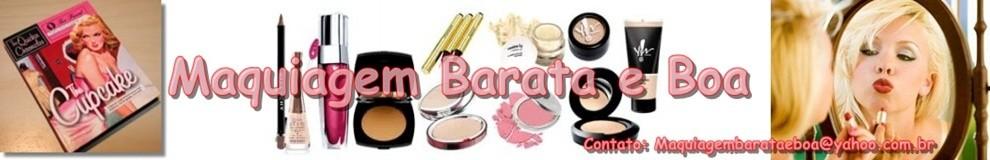 Maquiagem Barata e Boa
